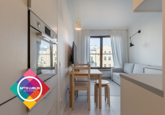 Brand new 1 bedroom apartment in the City Center.