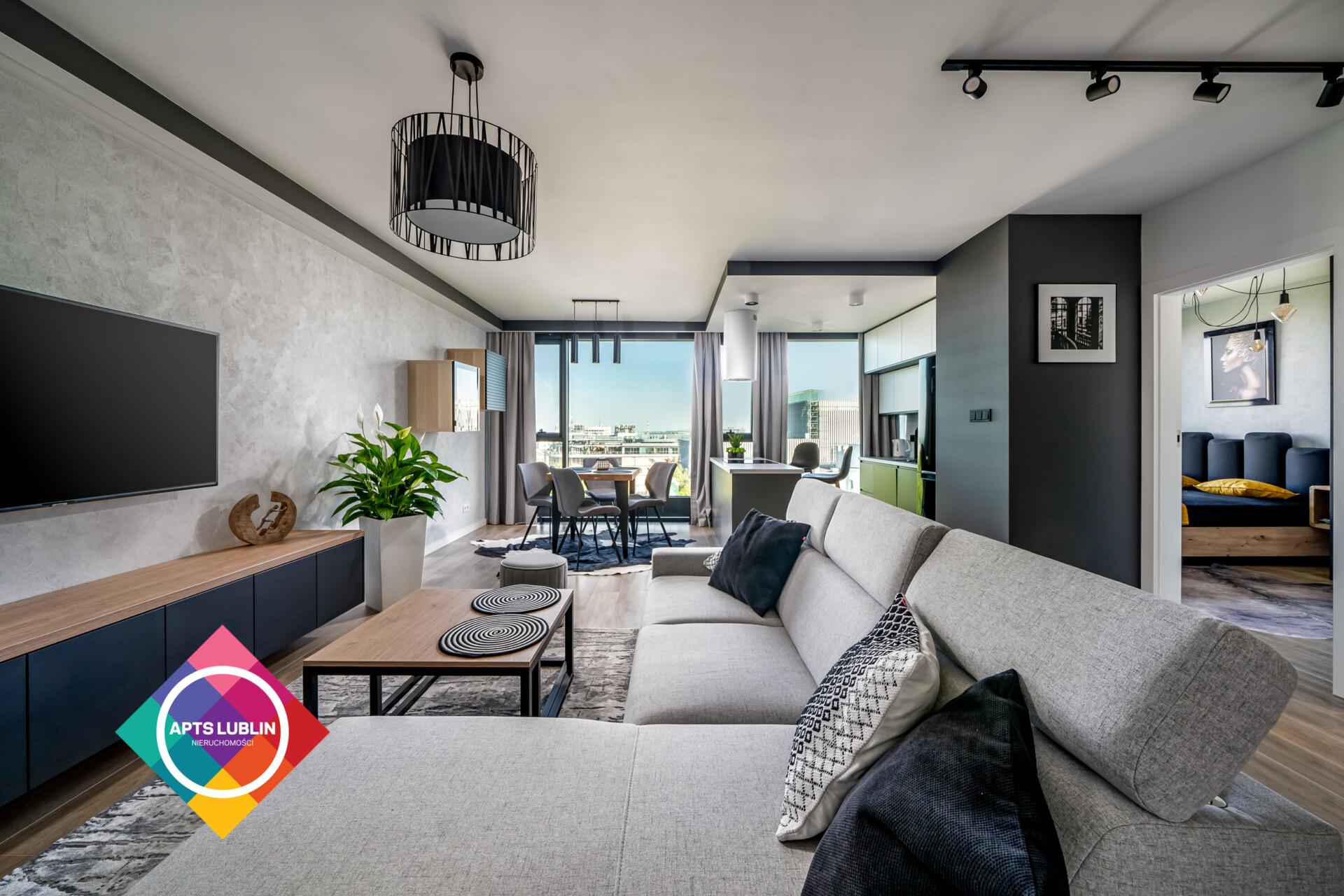 Unia Art Residence – 1 bedroom, high standard